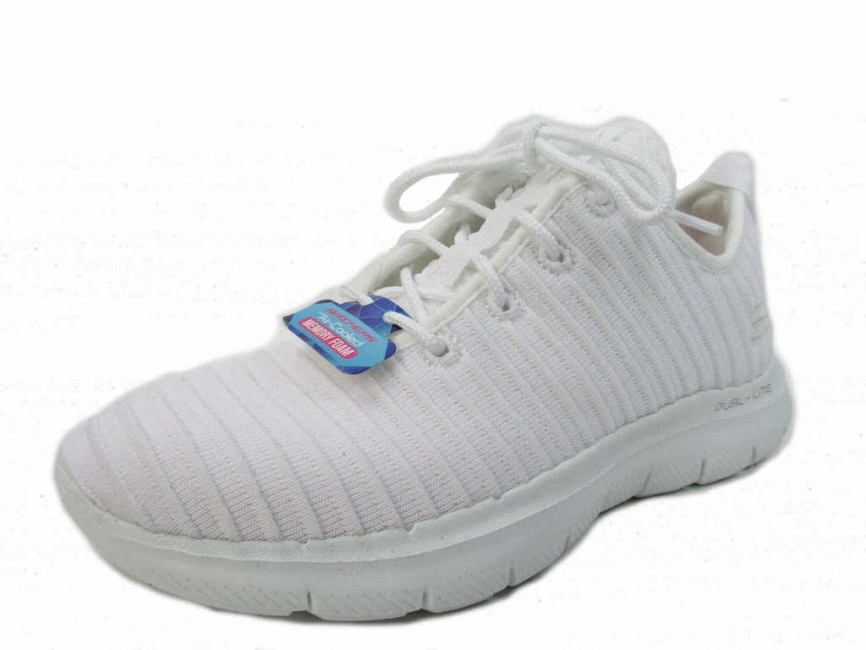 Skechers FLEX APPEAL 2.0 - ESTATES,Weis 12899 WHT